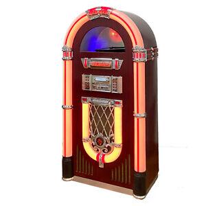 Arcade Rewind Full Size Jukebox Vinyl, CD, Radio, Bluetooth, SD, USB MP3
