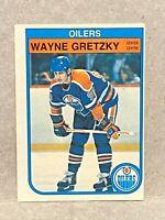 1982-83 O-Pee-Chee OPC #106 Wayne Gretzky: Edmonton Oilers HOF