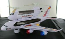 Police Airplane ICPO Helicopter Plane Self Driving Bump Beautiful 3D Light Toy