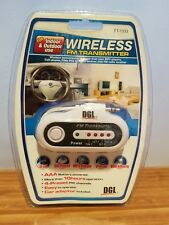 DGL FT-1333 Wireless 4-Channel FM Transmitter ***Closeout Item*** NOS new sealed