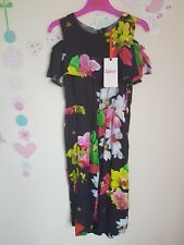 Ted Baker Girls  Floral Jumpsuit. 6 Years.  Designer