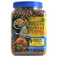 Zoo Med Comida natural tortuga acuática-crecimiento 213g