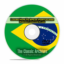 Learn How To Speak Portuguese, Fast Foreign Language Training Course, DVD E12