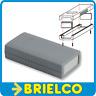 CAJA PLASTICO GRIS PARA MONTAJE ELECTRONICO 120X60X30MM TAPAS LATERALES BD6394