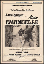 SISTER EMANUELLE__Orig. 1976 Trade AD promo / poster__LAURA GEMSER_MONICA ZANCHI
