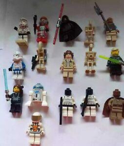 Lego Star Wars Figuren Princess Leia + Mace Windu + Darth Maul und noch mehr