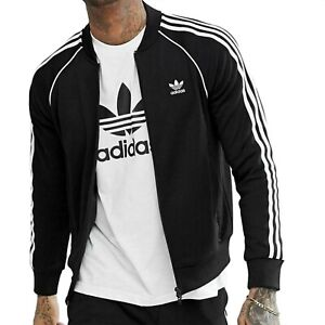 New adidas Originals Mens Superstar Track Jackets
