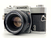 [Exc+5] KONICA FTA SLR Film Camera w/ HEXANON 50mm F1.7 Lens from JAPAN