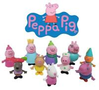 Peppa Pig & Friends 10 Piece Figure Set Lot Cake Toppers Decoration Pce
