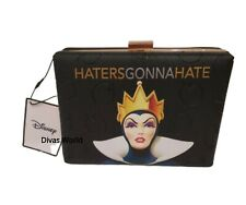 "Disney Snow White Evil Queen Clutch Purse Ladies Bag ""Haters Gonna Hate"" Primark"