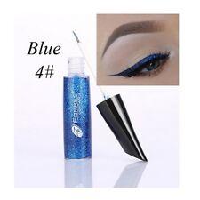 Shimmer Glitter Pigment Eye Makeup Cosmetic 6 Colors Liquid Eyeliner Eyeshadow Blue