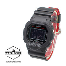 Casio G-Shock Black x Red Heritage Color Series Watch DW5600HR-1D AU FAST & FREE