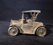 Vintage Antique Die Cast 1917 Car Metal Pencil Sharpener