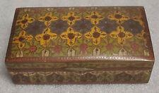 Chinese Cloisonne Enamel Box Antique