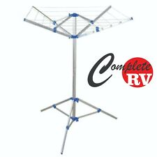 PORTABLE CAMPING CLOTHESLINE WITH PEGS & CARRY BAG CLOTHES LINE CARAVAN RV PARTS