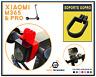 XIAOMI M365 & PRO Soporte Fijación GoPro Accesorio Scooter Patinete Cámara