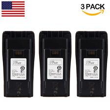 3 x NNTN4851 NNTN4496 Battery for Motorola Radio CP040 CP140 CP160 CP180 CP200