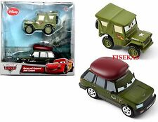 2012 Disney Pixar Cars Die Cast 2 pk Sarge and Corporal Josh Coolant NEW