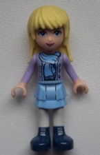 LEGO Friends minifigure mini doll figure BN Stephanie winter blonde hair