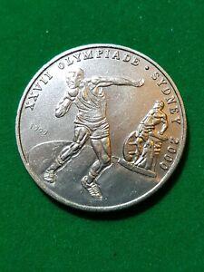 CONGO  1999  100 Francs  Sydney Olimpic  Nickel