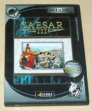 Caesar III 3-PC colección de juegos-incluyendo versiones completas de César I & II