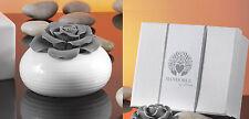 6pz Ampolla diffusore - Bomboniera 9,5 cm porcellana Gift Box Mandorle by Paben