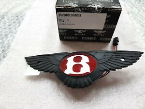 Bentley Continental Gt Gtc Rear Boot Emblem Switch