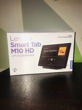 "Lenovo Smart Tab M10 HD 2nd Gen 10.1"" 32GB Tablet w/ Google Assistant Iron Grey"