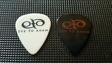 Rare! Pair of EVE TO ADAM Gaurav Bali Black & White Tour Used Guitar Picks! Wow!