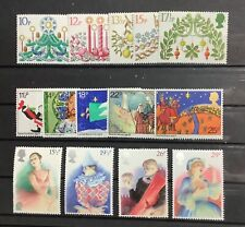 Great Britain. Three Complete Mint Never Hinged Sets. Mnh
