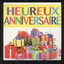 NEUF CARTE HEUREUX ANNIVERSAIRE + ENVELOPPE !! 10 CARTES ACHETEES = PORT GRATUIT