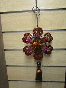 Regal Art & Gift Flower Ornament w/Bell