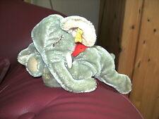 """Älterer schlafender liegender Elefant """"Jumbo"""" von STEIFF Vintage Nostalgie Antik"""