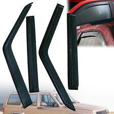 For 84-01 Jeep Cherokee 4-Dr Window Visors Rain Sun Guards Vent Shades Us Stock