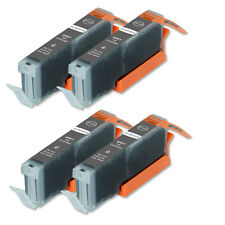 4 GRAY Ink Cartridge fits + CHIP for Canon CLI-251 XL MG7120 MG6320 MG7520