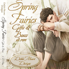 1 x Debbi Moore Designs Spring Fairies Gifts & Boxes CD Rom (295705)
