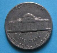 5 centesimi Monticello STATI UNITI D'AMERICA 1973 - C- BB
