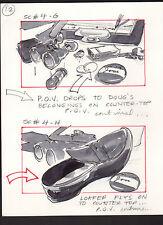 SHE'S OUT OF CONTROL 1989 ORIGINAL STORYBOARD ART ALTERNATES CARL ALDANA #4 G-H