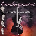 CD Borodin Quartet Beethoven Shostakovich Quartetti per archi 2CDs