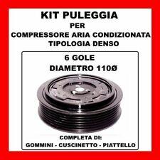 KIT PULEGGIA COMPRESSORE AC 14140 SKODA FABIA-OCTAVIA-ROOMSTER TDI 6Q0820808D