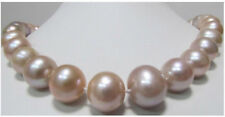 NATURAL 9-10MM SOUTH SEA PINK FRESHWATER PEARL NECKLACE 18''