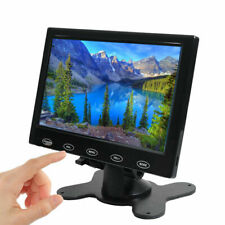 "Mini 7"" TFT LCD CCTV PC Monitor HD Screen HDMI AV/RCA VGA  800*480 with Speaker"