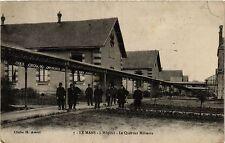 CPA Le Mans - L'Hopital - Le Quartier Militaire (391047)