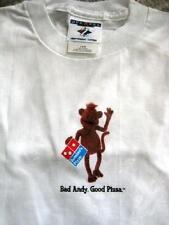 Bad Andy Domino's Pizza Advertising KIDS Child Size T-Shirt BadAndy NEW Original