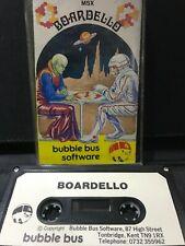 MSX Computer Game - BOARDELLO - Rare, Working.