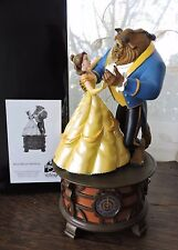 "Disney Parks Beauty & Beast Musical ""TALE AS OLD AS TIME"" Ballroom Music Box NIB"