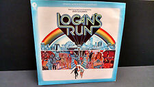 RARE LOGAN'S RUN SOUNDTRACK JERRY GOLDSMITH SCI-FI LP RECORD