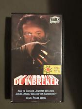 De Inbreker Ex-Rental Vintage VHS Tape Dutch NL Film Videoband