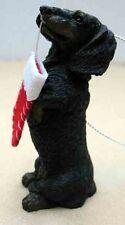 Sandicast Dachshund, Black, Begging Ornament Item Xso04408