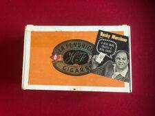 "1960's, Rocky Marciano, ""LA FENDRICH"" Cigar Box (2 Images) Scarce"